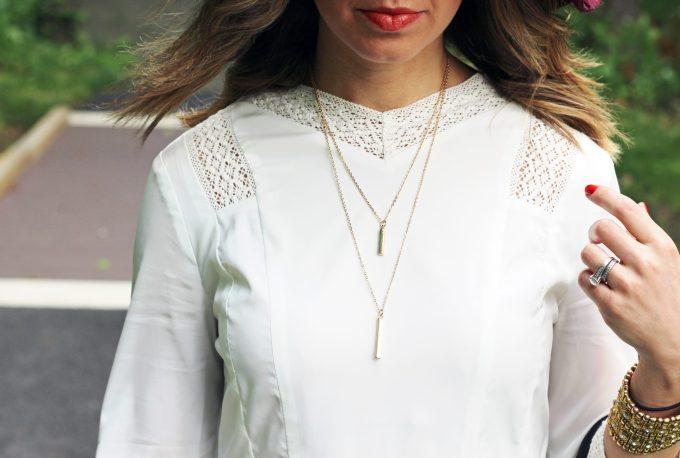 Little White Dress | Glass of Glam