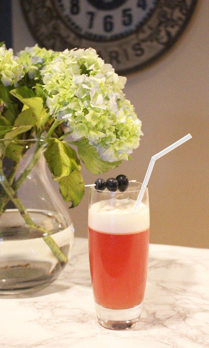 Blackberry Orange Fizz | Glass of Glam
