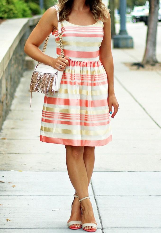 RoRose Candy Stripe Dressse Candy Stripe Dress
