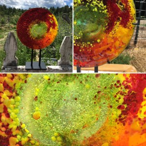Glass Art - Summer Solstice
