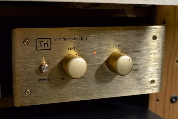 真空管式フォノイコライザー TRIODE VP-Phono MarkII