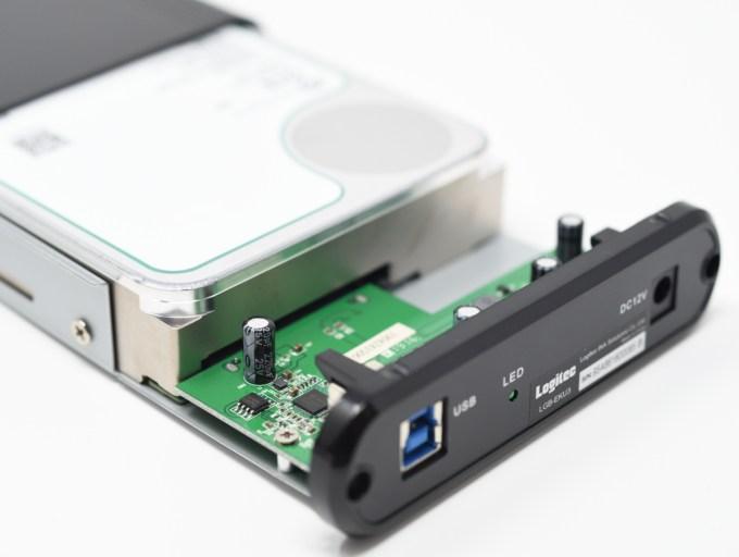 Seagate Exos X12 自作PCに Logitec LGB-EKU3でUSB3.1 Gen1接続した際のベンチマーク