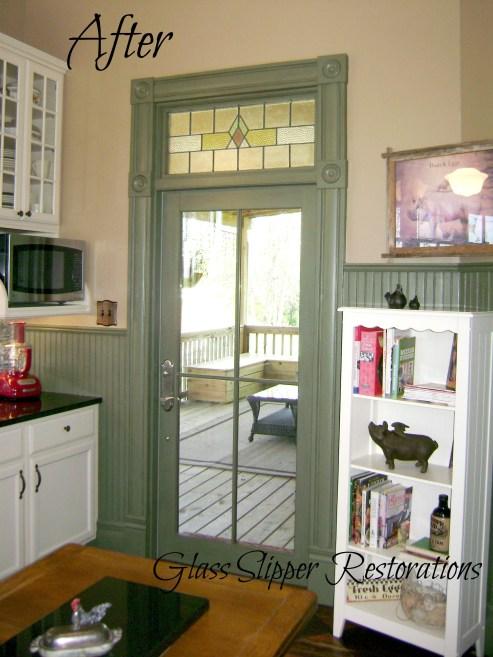 New Kitchen Door