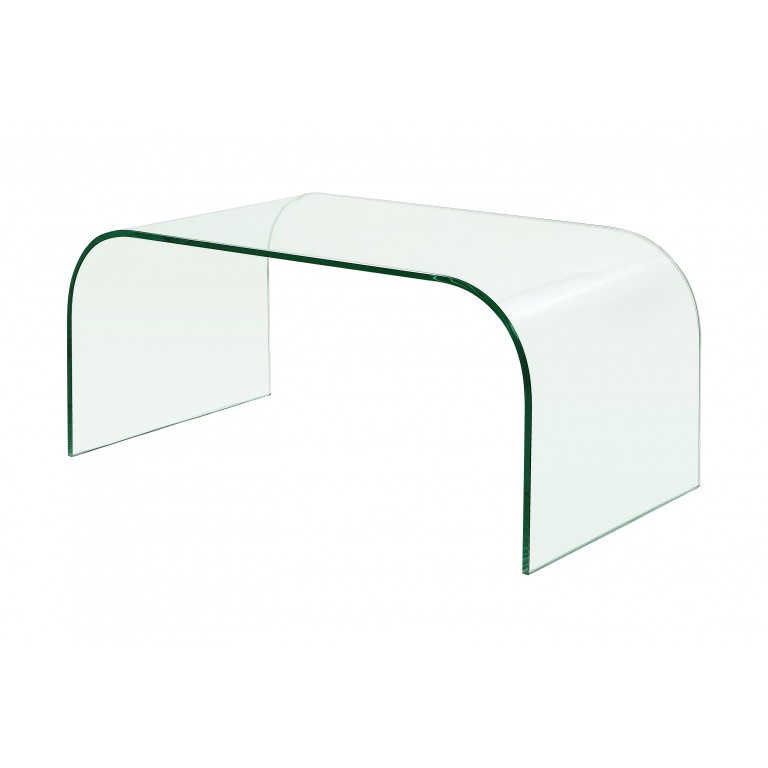 glass coffee table small