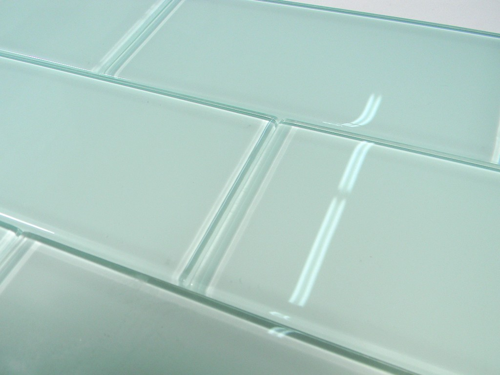 arctic glass 3x6 subway tile