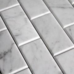 Carrara 3X6 Bevel Wall Tile 1