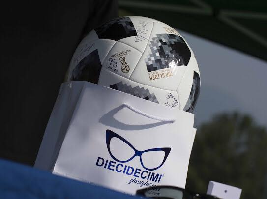 EVENTO Football Legends - Glasstylist Factory Days - Ottica DIECIDECIMI®