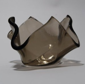 Recycled Glass Votive - Bronze