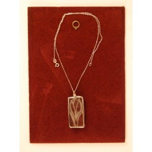 Recycled Table top glass pendant