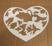 February Kiln Carving Pattern Step 3