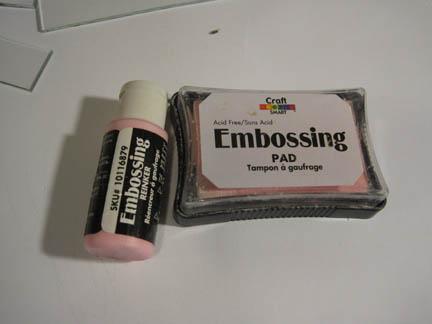 embossing ink pad