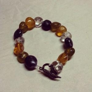 kiln formed lentil beads