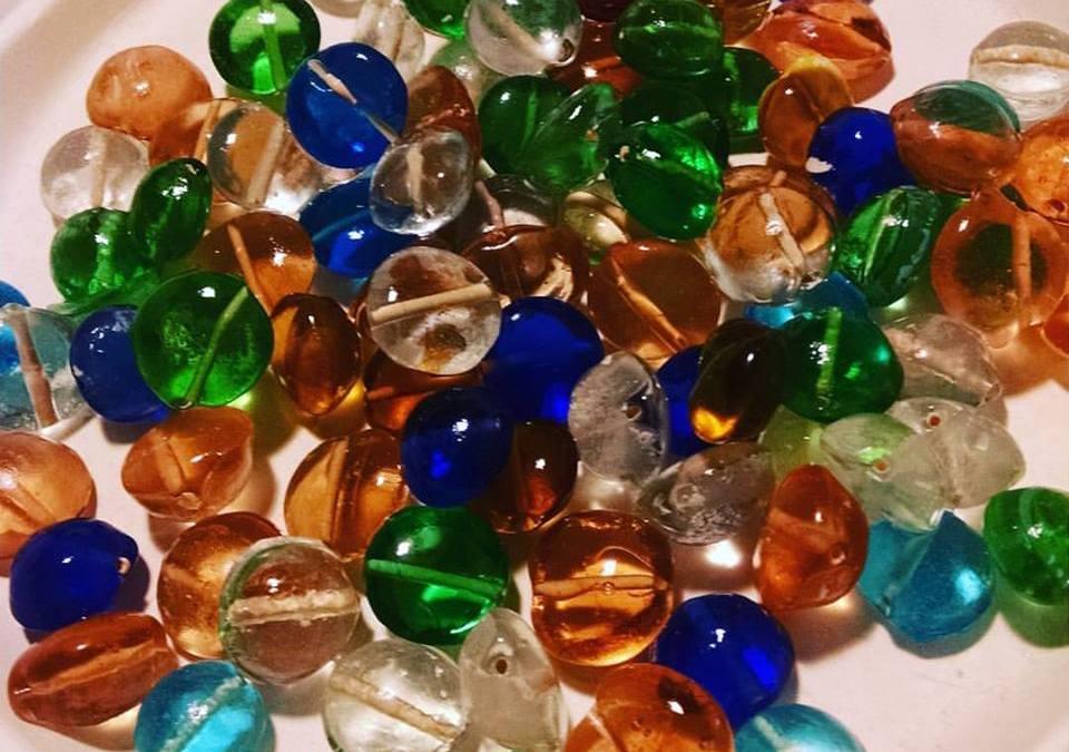 kiln formed beads
