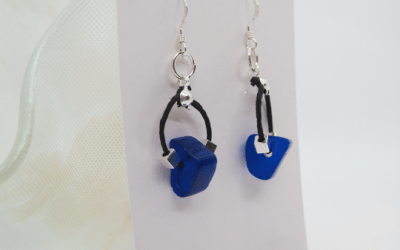 Easy Triangle Bead Earrings