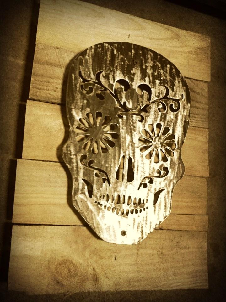 Perfect Sugar Skull Wall Art Elaboration - All About Wallart ...