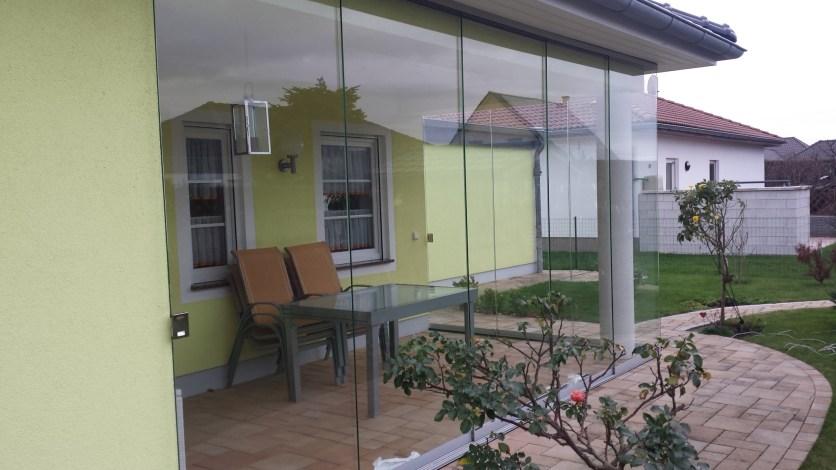 Schöne Glasschiebeanlage in Kitzscher...
