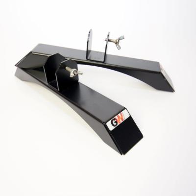 Glaswärmt-Standfuss-IMP-Serie-Metall-Infrarotheizung-Schwarz