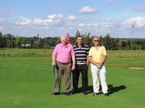 Rodger Ashcroft,Steve Hall, Martin Evans