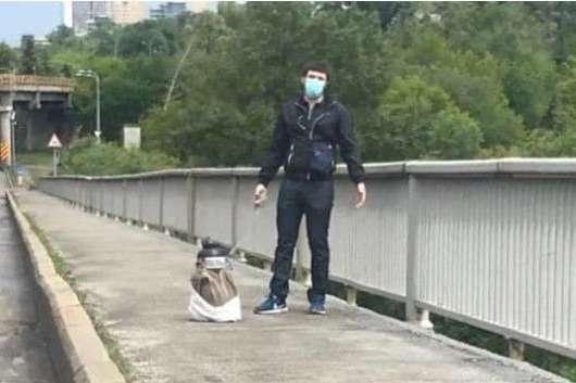 Затриманий - мешканець Київщини, 1988 року народження - Сьогодні суд обере запобіжний захід «мінеру» мосту Метро