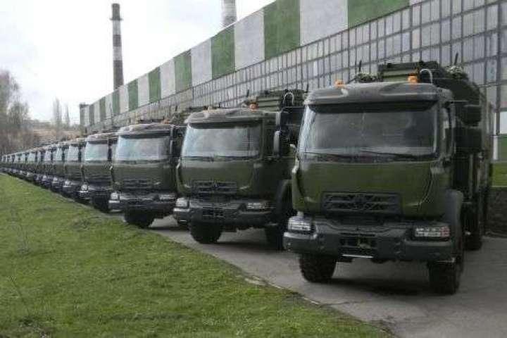Специальные автомобили связи на шасси Renault Trucks 4x4 - Украинская армия впервые получит технику от мирового производителя