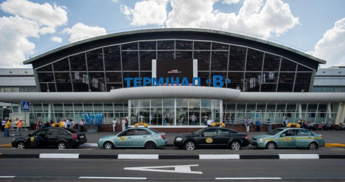 Термінал B – найстаріший термінал «Борисполя», пам'ятка архітектури (фото: Tengrinews)