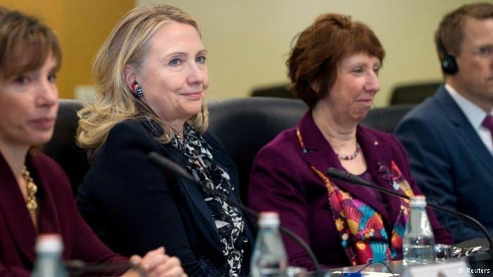 Хілларі Клінтон завжди була бажаною гостею в Брюсселі. Фото: Reuters