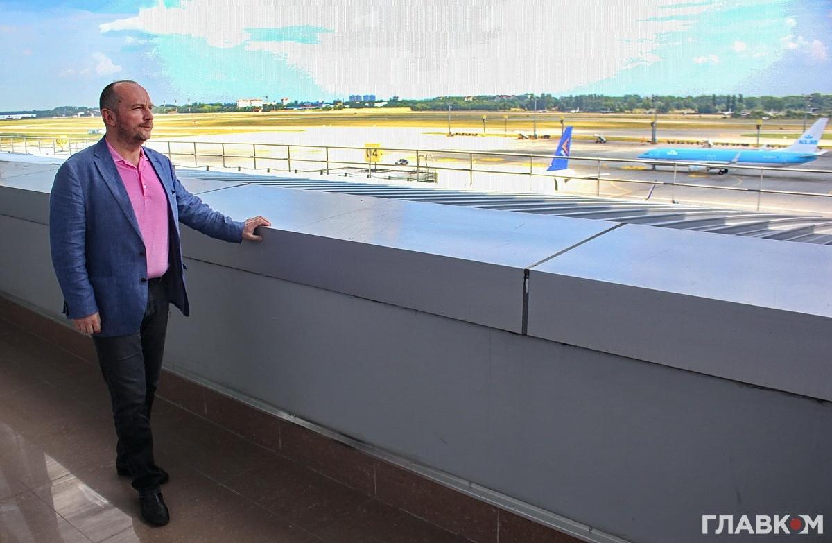 Генеральний директор аеропорту «Бориспіль» Павло Рябікін