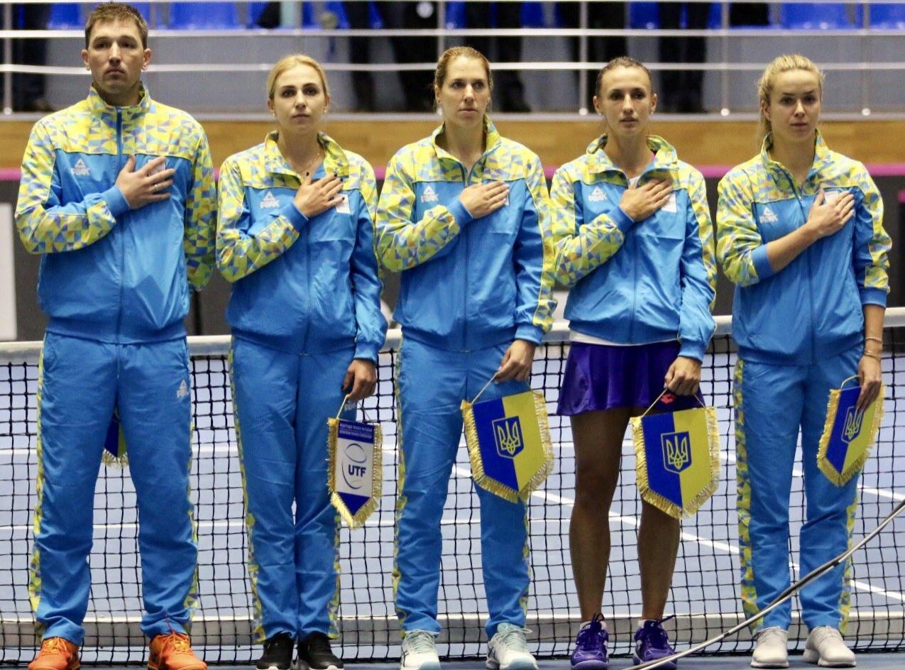 Збірна України з тенісу