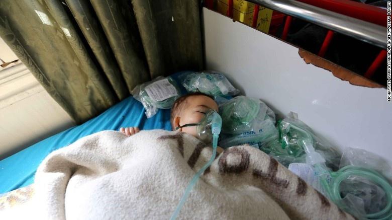 Наслідки хімічної атаки у Сирії