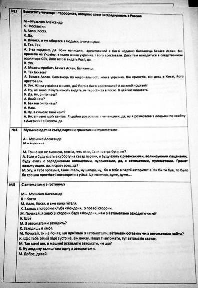 МВД обнародовало телефонные разговоры Саши Белого