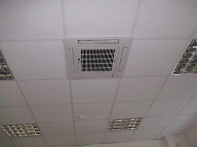 Монтаж систем кондиционирования в помещениях медицинского центра