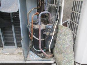 сломанный компрессор