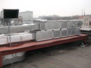 Приточной вытяжные вентиляционные установки