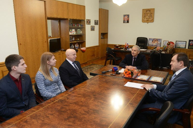 Награждение лучшего инспектора смоленской области 2017