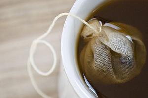 Компресс для глаз из чая