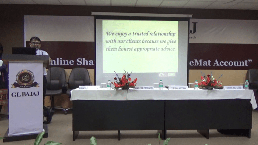 workshop-on-online-share-trading-through-demat-account-glbimr-2