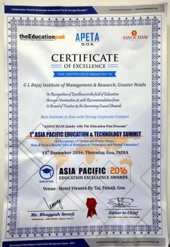 best-institute-in-asia-with-strong-corporate-connect-by-assocham-8