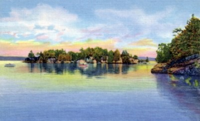 Cave Island - Lake Champlain Islands
