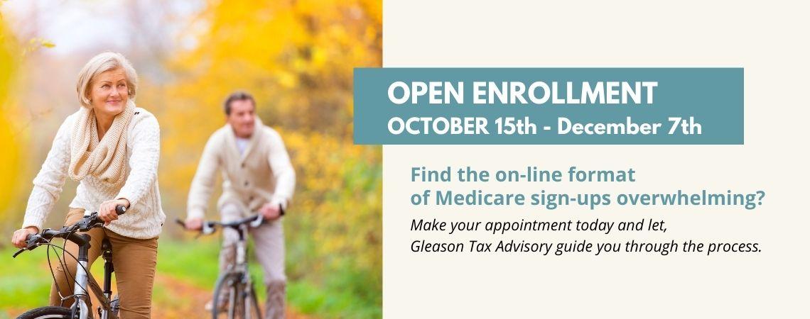 Medicare Open Enrollment starts Oct 15