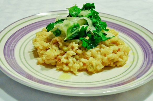 Carb Meat Risotto