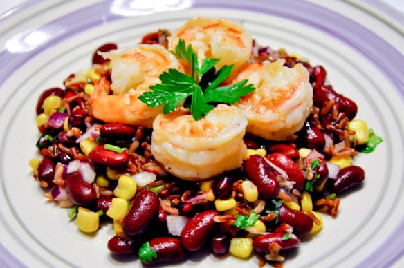 Shrimp Salad with Lemon Vinaigrette