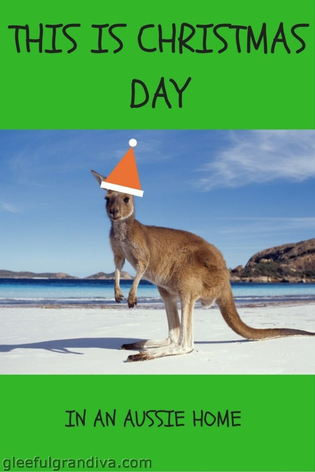 this is Christmas day in an Aussie home picture