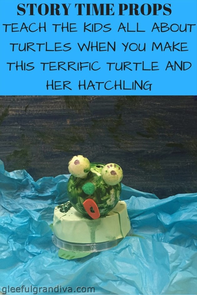 TERIFIC TUTLE AND HER HATCHLING PICTUE