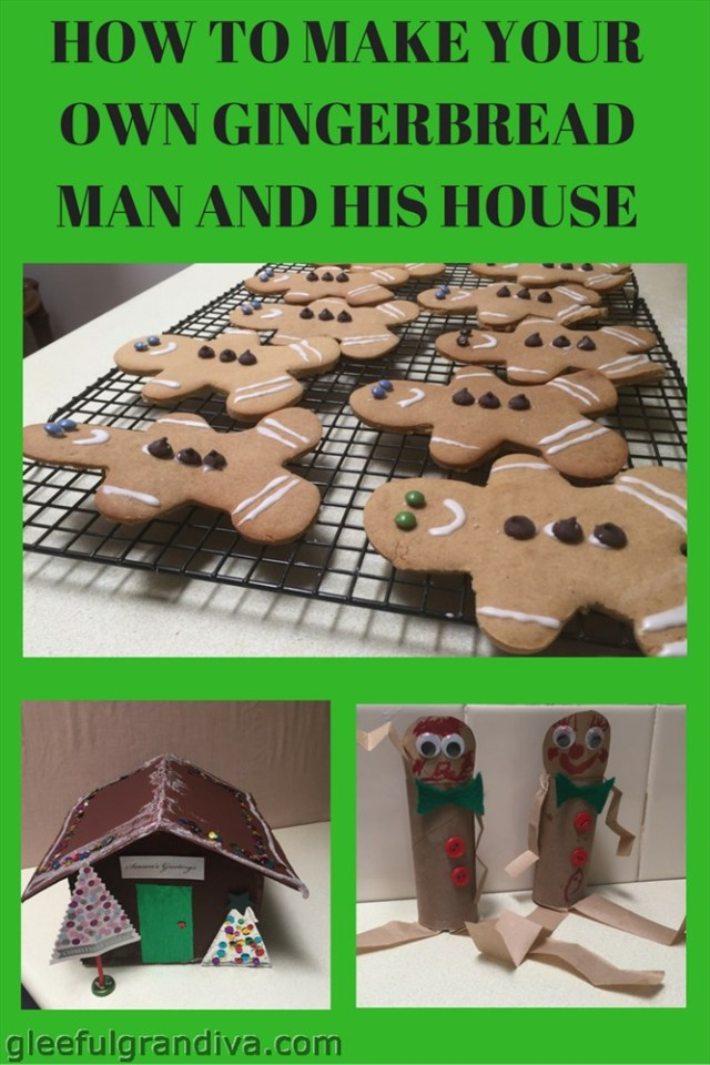 make your own gingerbread man picture