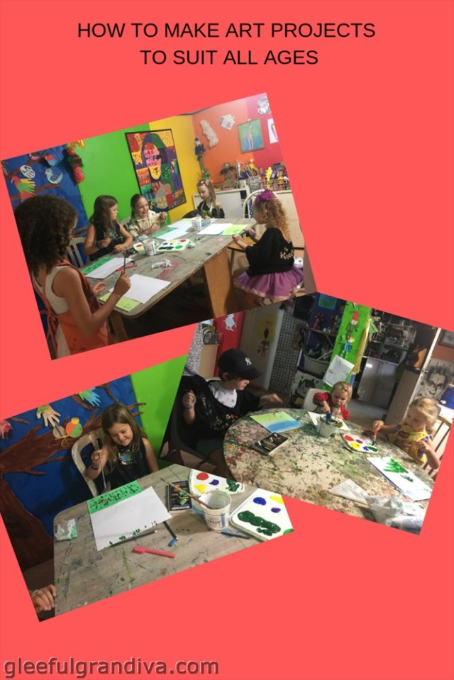 arts projects to suit all ages picture