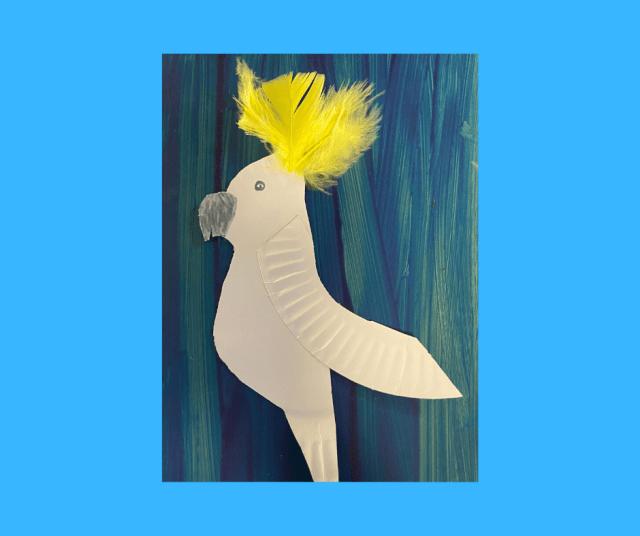 Aussie bird crafts picture