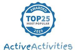 top 25 most popular
