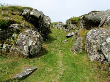 Entry to Dunadd Fort