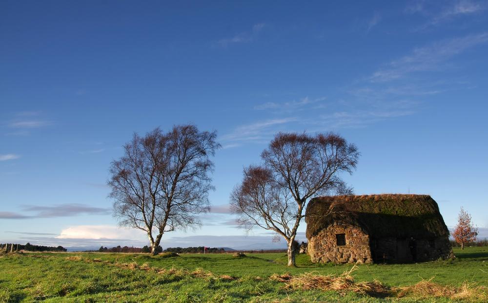 Leanach Cottage Culloden Battlefield