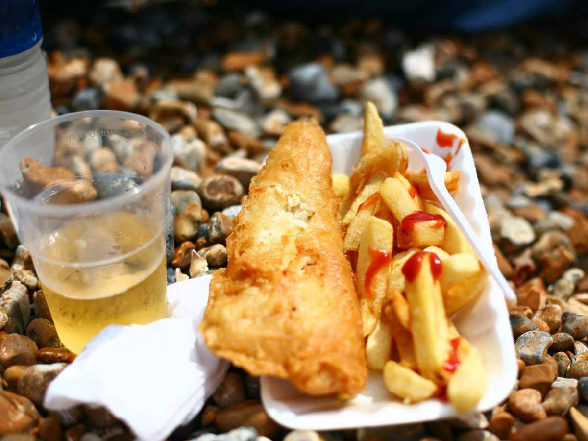 Fish and chips: the stuff from which memories are made